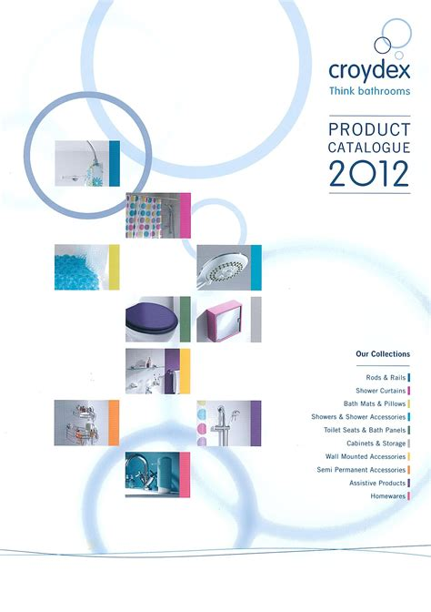 product catalog cover www pixshark com images a catalogue of innovation and design the croydex 2012