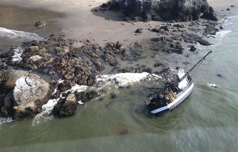 alaska fishing boat accident coast guardsman swims a mile in dark and rough seas to