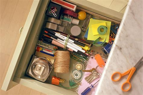 Organize Junk Drawer Kitchen by How To Organize A Junk Drawer In 30 Minutes