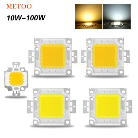 Chip Led Epistar 50w White aliexpress buy high power epistar cob led chip 10w 20w 30w 50w 100w dc 10v 32v integrated