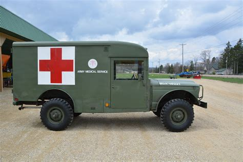 mash jeep 1967 jeep willys mash ambulance 11263miles