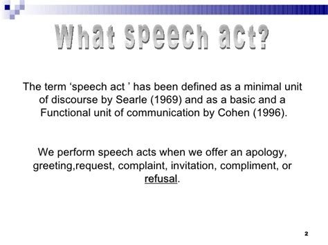 Searle 1969 Speech Acts An Essay In The Philosophy Of Language by Are You Deaf I Ve Said No No No