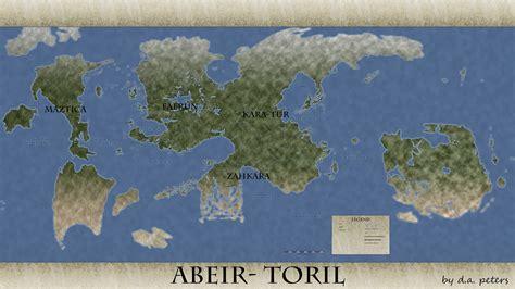 abeir toril faerun forgotten realms fantasy world maps