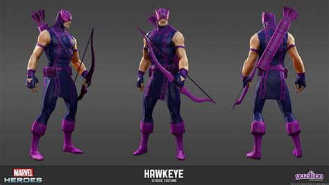 film marvel hawkeye marvel heroes mmo releases new screens and character