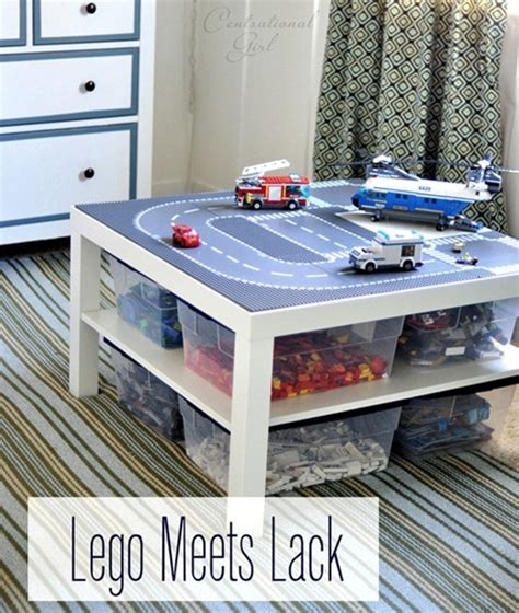 lego table diy ikea ikea lack table hacks 12 inspiring diy projects