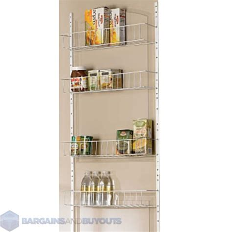 Kitchen Pantry Rack 24 Quot Wide 8 Shelf Kitchen Pantry Door Rack 220479 Ebay