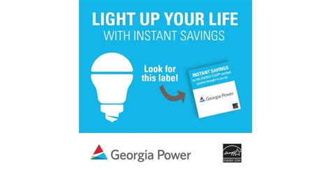 georgia power and light light with leds and save with new georgia power instant