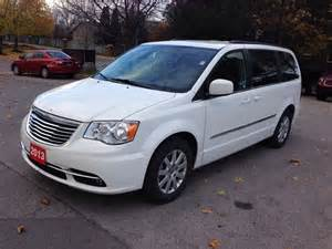 2013 Town And Country Chrysler 2013 Chrysler Town And Country Touring Hamilton Ontario