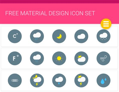 design icon material 6 free material design icon packs super dev resources