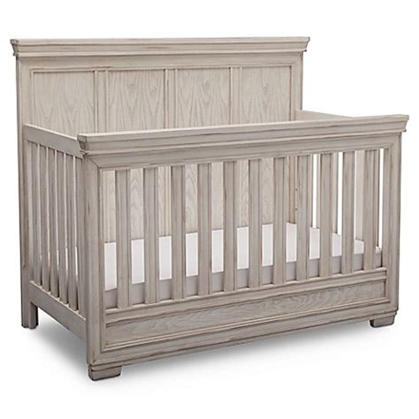 Simmons Kids 174 Ravello 4 In 1 Convertible Crib In Antique Antique White Convertible Crib