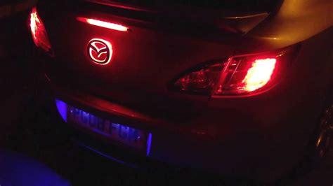 new mazda emblem my mazda 6 new led emblem youtube