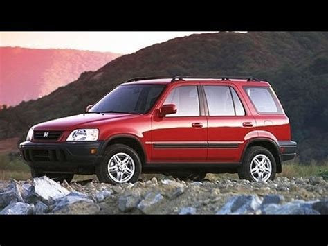 1999 honda crv wont start 2000 honda cr v start up and review 2 0 l 4 cylinder