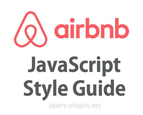 airbnb style guide airbnb javascript style guide jquery plugins