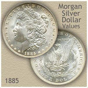 how much is the silver dollar worth 1885 silver dollar value discover their worth