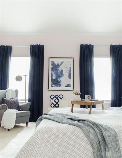 navy master bedroom modern glam bedroom polished habitat