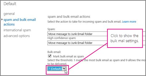 Office 365 Junk Mail Filtering Blokker S 248 Ppelpost Med S 248 Ppelpostfilteret I Office 365 For
