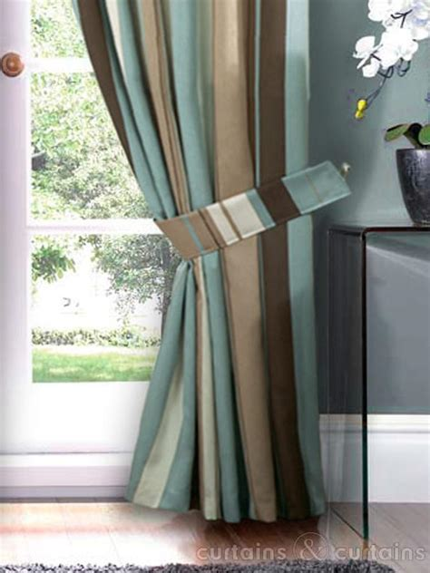 blue and brown curtains and drapes blue and brown living room curtains modern house