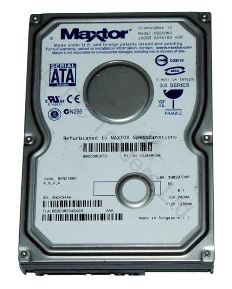 Hdd 200 Gb 200 gb 3 5 quot sata maxtor 6b200m0 diamondmax 10 disk drive 3846 2000009589900 ebay