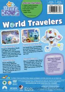 blue s clues blue s room world travelers dvd 2007