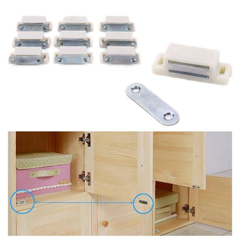 kitchen cabinet magnetic catches set of 10 magnetic door catches for kitchen cabinet