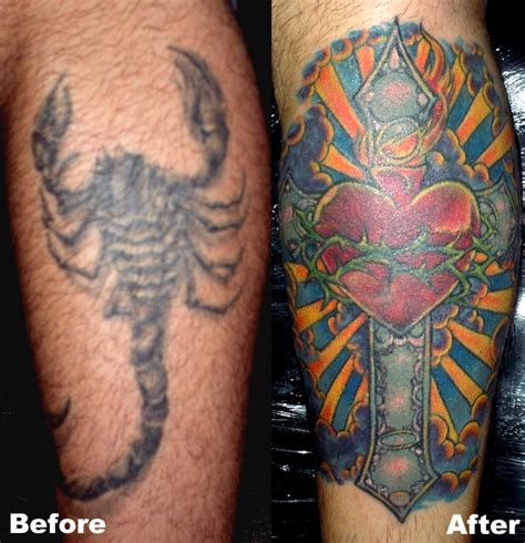 covering up a cross tattoo cross cover up
