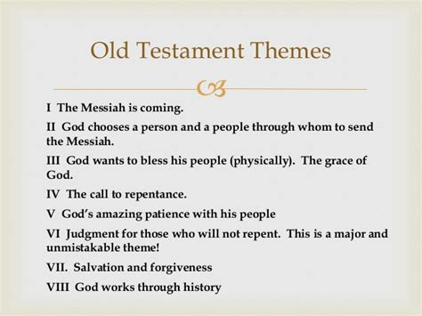 themes of wisdom literature class old testament survey