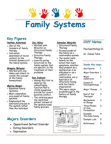 pengertian layout family therapy clinical psychology case formulation and treatment