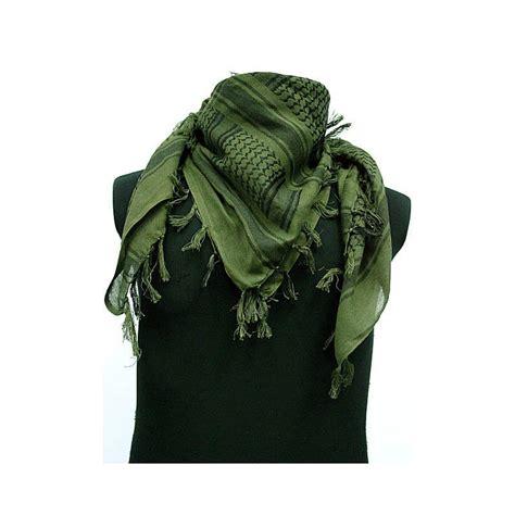 Fma Shemagh Scarf shemagh scarf od green black fringed o 220