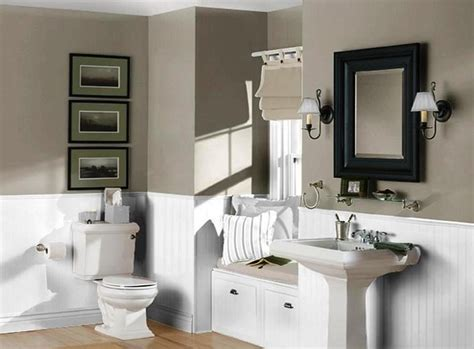 what color to paint a small bathroom to make it look bigger bathroom paint color ideas home the inspiring