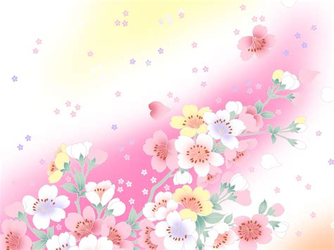 Sweet Flower Styles 1024x768 Backgrounds For Powerpoint Flower Background For Powerpoint
