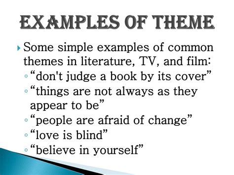 themes literature definition motif exles in literature www imgkid com the image