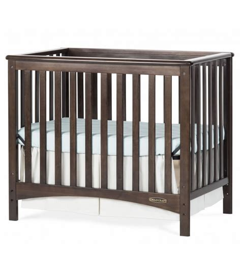 Convertible Mini Cribs Child Craft 2 In 1 Convertible Mini Crib Slate