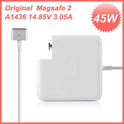 Original Magsafe 1 45w Power Adapter For Charger Macbook Air 1 genuine original magsafe 2 45w for apple macbook air power adapter charger a1436 in laptop