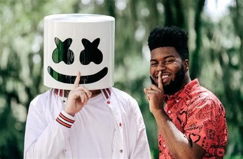 marshmello you and me singer grammy nominated singer khalid talks about collaborating