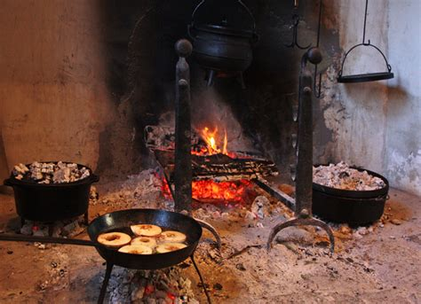 Cooking In The Fireplace by In A Bit Of A Jam Cooking In A Cottage Kitchen In 1807