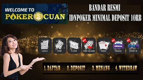 bandar poker  resmi idnpoker minimal deposit rb
