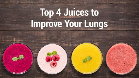 Detox Lungs Copd by Top 4 Juices To Improve Your Lungs Lungs Juice And Asthma