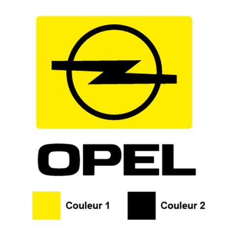 Aufkleber Bestellen Mit Logo by Sticker Opel Logo