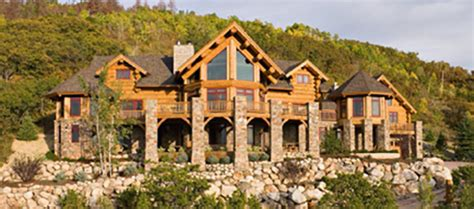 Cabin Home On The Hill by Testimonials Montana Log Homes