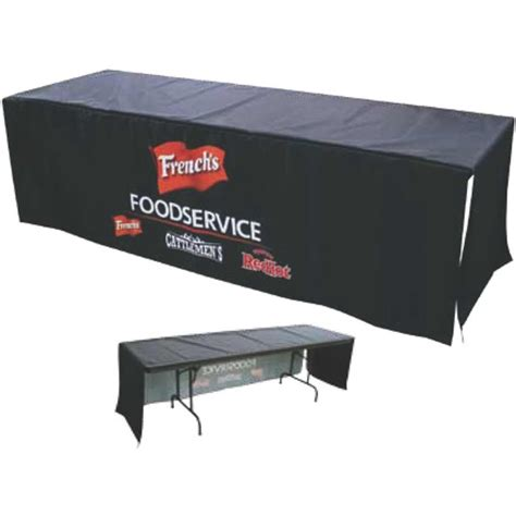 Table Banner by 7 Front Panel Dye Sublimated Poplin Table Banner Usimprints