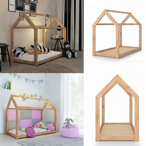 haus kinderbett kinderbett kinderhaus bett kinder holz haus schlafen real