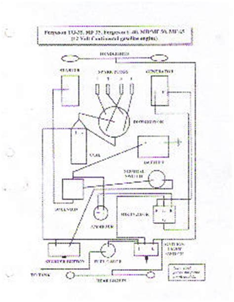 mey ferguson to35 wiring diagram ferguson to 30 wiring