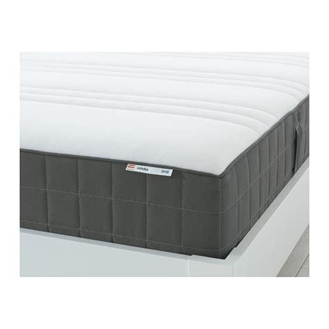 Ikea Hovag Mattress Review H 214 V 197 G Pocket Sprung Mattress Medium Firm Grey Ikea
