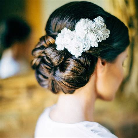 bridal hairstyles thick hair 7 stunning wedding updos for every type of bride updos