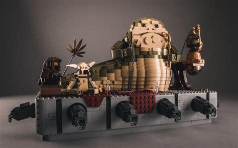 lego wars jabba the hutt this lego jabba the hutt is impressive sci fi design