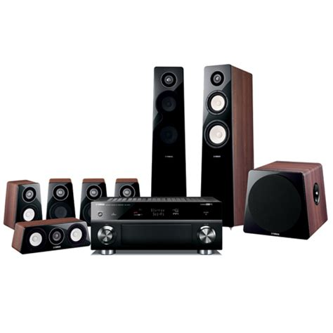 avad yht 1196aubr yamaha 3d home theatre systems 7 1ch