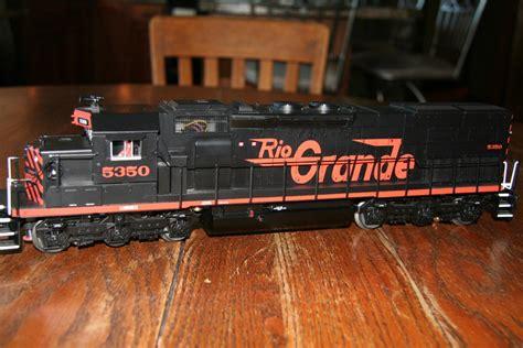 www lionel lionel sd40 t 2 rio grande tunnel motor o gauge