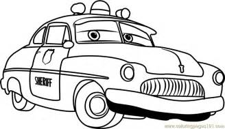sheriff cars coloring pages sheriff from cars 3 coloring page free cars 3 coloring