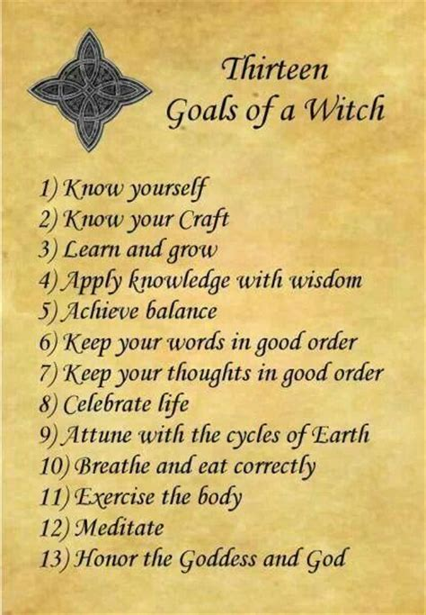 a pagan s life for 13 rules of being a wiccan or witch things to put in my book of shadows wiccan