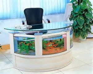 13 aquarium design ideas - Desk Fish Tank